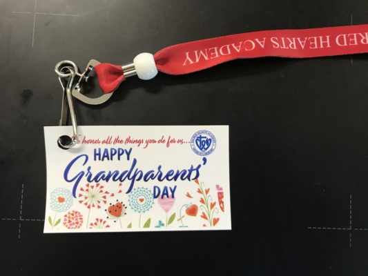 Sacred Hearts Academy Grandparents day